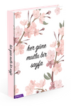 Renkli, Kokulu, Planlayıcı Defter (Çiçek Desenli)