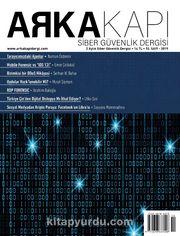 Arka Kapı Siber Güvenlik Dergisi Sayı:10