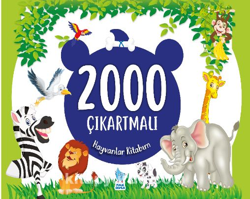 2000 Çıkartmalı Hayvanlar Kitabım - İsmail Gürgen pdf epub