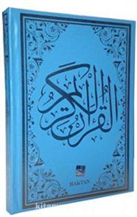 Kur'an-ı Kerim Bilgisayar Hatlı Rahle Boy Mavi (Kod:H-12 )