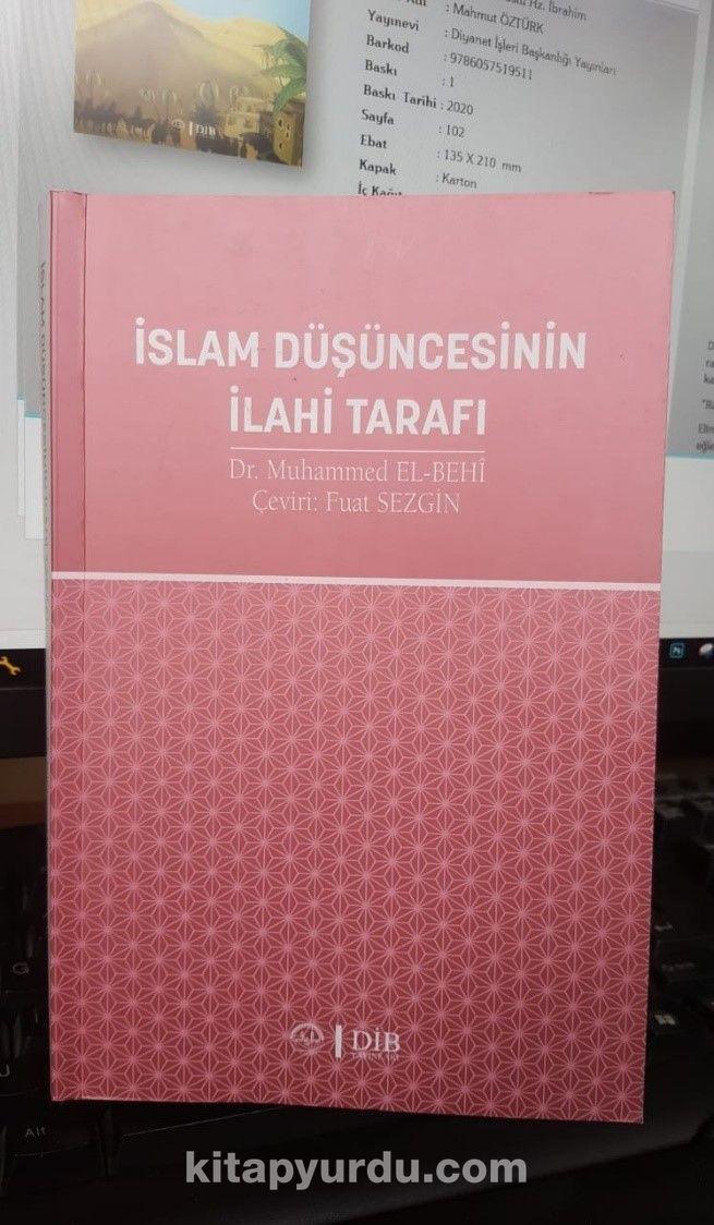 İslam Düşüncesinin İlahi Tarafı - Fuat Sezgin pdf epub