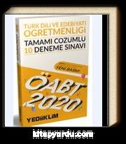 2020 KPSS ÖABT Türk Dili Ve Edebiyatı Öğretmenliği Tamamı Çözümlü 10 Deneme Sınavı