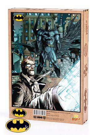 Batman - Batman and Commissioner Gordon Ahşap Puzzle 1000 Parça (KOP-BT107 - M) Lisanslı Ürün