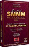 2020 SMMM Staja Giriş Sınavı Tamamı Ayrıntılı Çözümlü 10 Fasikül Deneme