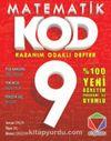 9.Sınıf Matematik KOD-Kazanım Odaklı Defter