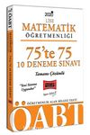 2020 ÖABT Lise Matematik Öğretmenliği 75'te 75 Tamamı Çözümlü 10 Deneme Sınavı