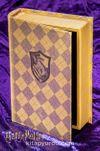 Yaldızlı Ahşap Kutu - Hufflepuff (BK-HP006)