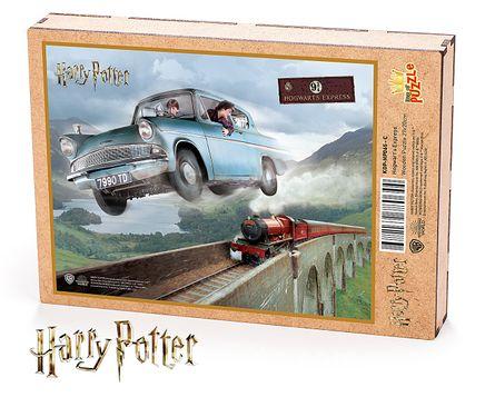 Harry Potter - Hogwart's Express Ahşap Puzzle 108 Parça (KOP-HP065 - C) Lisanslı Ürün