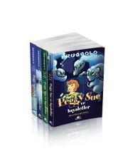 Peggy Sue ve Hayaletler Serisi Takım Set (4 Kitap)
