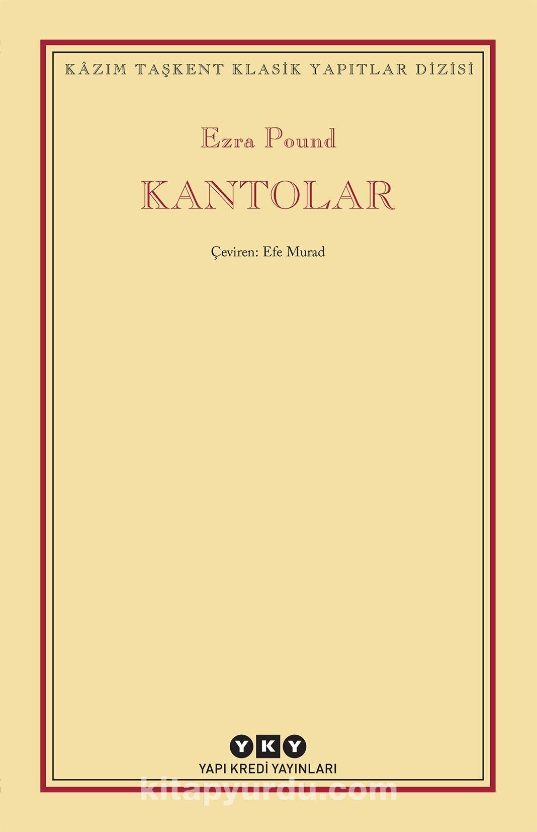 Kantolar - Ezra Pound pdf epub