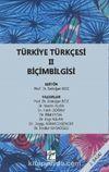 Türkiye Türkçesi 2 & Biçimbilgisi