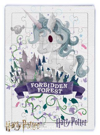 Harry Potter - Forebidden Forest Ahşap Puzzle 35 Parça (KOP-HP076 - XXXV) Lisanslı Ürün