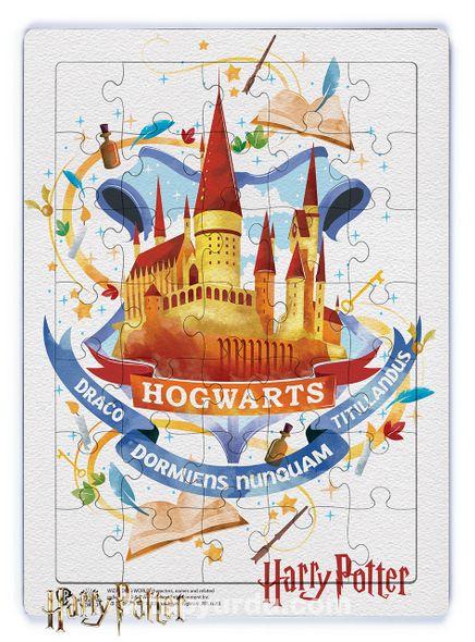 Harry Potter - Hogwarts Ahşap Puzzle 35 Parça (KOP-HP075 - XXXV ) Lisanslı Ürün