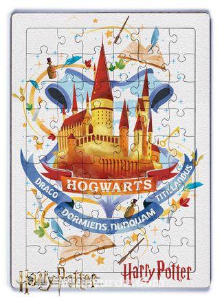 Harry Potter - Hogwarts Ahşap Puzzle 54 Parça (KOP-HP080 - LIV) Lisanslı Ürün