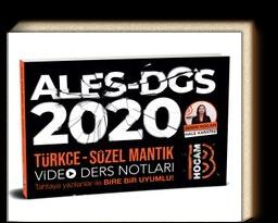2020 ALES DGS Türkçe - Sözel Mantık Video Ders Notları