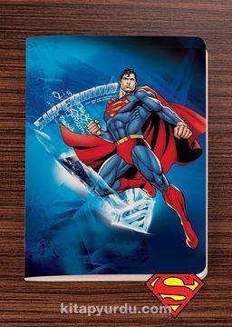 Superman - Frosted - Dokun Hisset Serisi (AD-SM009) Lisanslı Ürün   (Cep Boy) Lisanslı Ürün