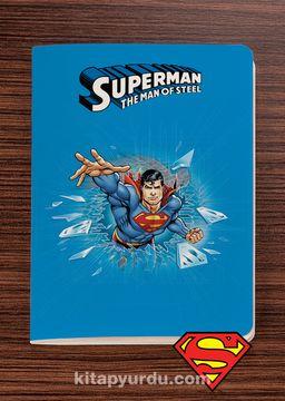 Superman - Breaking The Ice - Dokun Hisset Serisi (AD-SM006) Lisanslı Ürün   (Cep Boy) Lisanslı Ürün