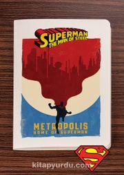 Superman - Metropolis - Dokun Hisset Serisi (AD-SM005) (Cep Boy)