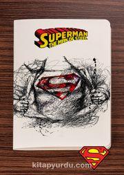 Superman - Sketch - Dokun Hisset Serisi (AD-SM004) (Cep Boy)