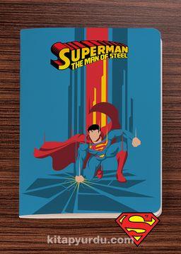Superman - The Man of Steel - Dokun Hisset Serisi (AD-SM003) Lisanslı Ürün   (Cep Boy) Lisanslı Ürün