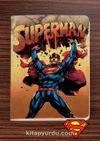 Superman - Under Fire - Dokun Hisset Serisi (AD-SM001) Lisanslı Ürün   (Cep Boy) Lisanslı Ürün