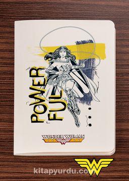 Wonder Woman - Powerful - Dokun Hisset Serisi (AD-WW007) Lisanslı Ürün   (Cep Boy) Lisanslı Ürün