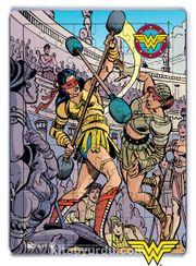 Wonder Woman - Vintage Ahşap Puzzle 54 Parça(KOP-WW099 - LIV)