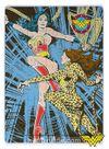 Wonder Woman - Wonder Woman vs Cheetah Ahşap Puzzle 35 Parça (KOP-WW095 - XXXV) Lisanslı Ürün