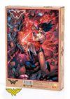 Wonder Woman - Wonder Woman vs Darkseid Ahşap Puzzle 500 Parça (KOP-WW093 - D)