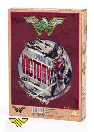 Wonder Woman - Victory Ahşap Puzzle 1000 Parça (KOP-WW089 - M) Lisanslı Ürün