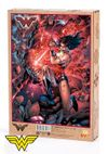 Wonder Woman - Wonder Woman vs Darkseid Ahşap Puzzle 1000 Parça (KOP-WW088 - M)