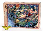 Wonder Woman - Wonder Woman vs. Parademons Ahşap Puzzle 1000 Parça (KOP-WW086 - M)