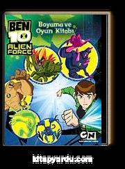 Ben 10 Alien Force Boyama Ve Oyun Kitapyurducom