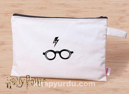 Harry Potter -  Glasses -Canvas El Çantası (BK-HP014) Lisanslı Ürün