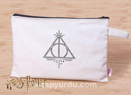 Harry Potter - Deathly Hallows - Canvas El Çantası (BK-HP009) Lisanslı Ürün