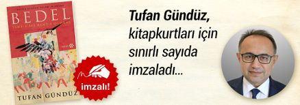 Yavuz Sultan Selim Romanı. Tufan Gündüz, Kitapkurtları için Sınırlı Sayıda İmzaladı.