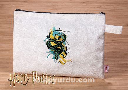 Harry Potter - Slytherin - Parıltılı El Çantası (BK-HP030) Lisanslı Ürün