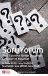 Soru Yorum & Soru Tiplerine Türkçe Dersinden Örnekler ve Yorumlar