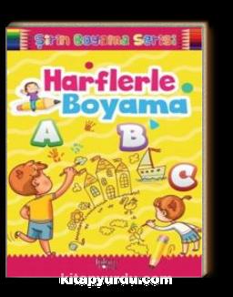 Harflerle Boyama / Şirin Boyama Serisi