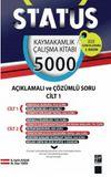 Status Kaymakamlık Çalışma Kitabı - 5000 Açıklamalı Çözümlü Soru (2 Cilt Takım)