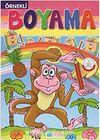 Örnekli Boyama Maymun