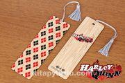 Bambu Ayraç - Harley Quinn / Suicide Squad (BK-HQ054) Lisanslı Ürün