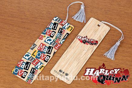 Bambu Ayraç - Harley Quinn / Words (BK-HQ053) Lisanslı Ürün