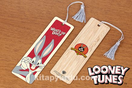 Bambu Ayraç - Looney Tunes - What's up Doc? (BK-LT080 ) Lisanslı Ürün