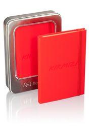 Akıl Defteri - Soft Touch Serisi - Kırmızı Defter (11x16)