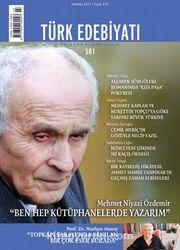 Türk Edebiyatı / Aylık Fikir ve Sanat Dergisi Sayı:501 Temmuz 2015