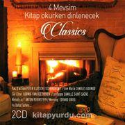 4 Mevsim Kitap Okurken Dinlenecek Klasikler (2 CD)