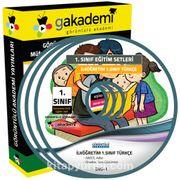 1. Sınıf Türkçe Görüntülü Eğitim Seti (4 Dvd)