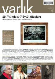 Varlık Aylık Edebiyat ve Kültür Dergisi Eylül 2015