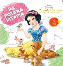 Disney Ilk Boyama Kitabım Pamuk Prenses Ve Yedi Cüceler Kollektif